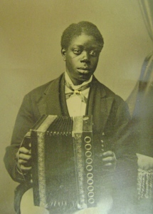 historical African American Accordionist