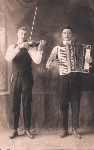 Historical accordion boys