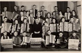 gang of accordion players