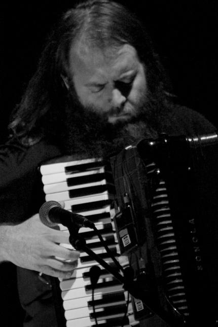 Johnny Kongos, of the band, KONGOS – Accordion Americana