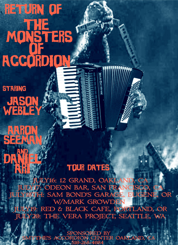 Monsters of the Accordion Tour