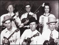 "Wilene ""Sally Ann"" Forrester with Bill Munro and his Bluegrass Boys 1947"
