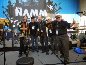 NAMM photo of Jon Hammond